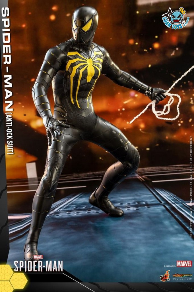 HOT TOYS MARVEL'S SPIDER-MAN 漫威 蜘蛛人 – SPIDER-MAN 蜘蛛人(ANTI-OCK SUIT 反八爪博士戰衣版)-10