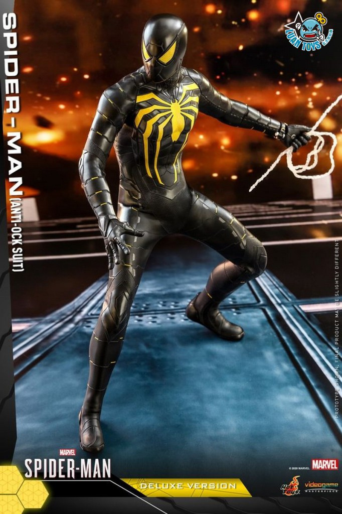 HOT TOYS MARVEL'S SPIDER-MAN 漫威 蜘蛛人 – SPIDER-MAN 蜘蛛人(ANTI-OCK SUIT 反八爪博士戰衣版)-11