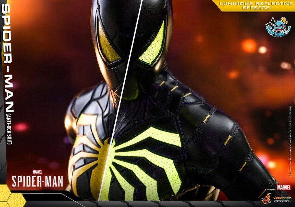 HOT TOYS MARVEL'S SPIDER-MAN 漫威 蜘蛛人 – SPIDER-MAN 蜘蛛人(ANTI-OCK SUIT 反八爪博士戰衣版)-12