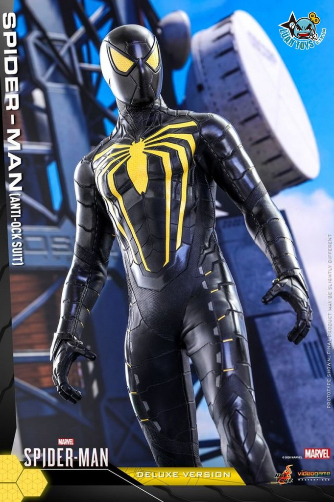 HOT TOYS MARVEL'S SPIDER-MAN 漫威 蜘蛛人 – SPIDER-MAN 蜘蛛人(ANTI-OCK SUIT 反八爪博士戰衣版)-14