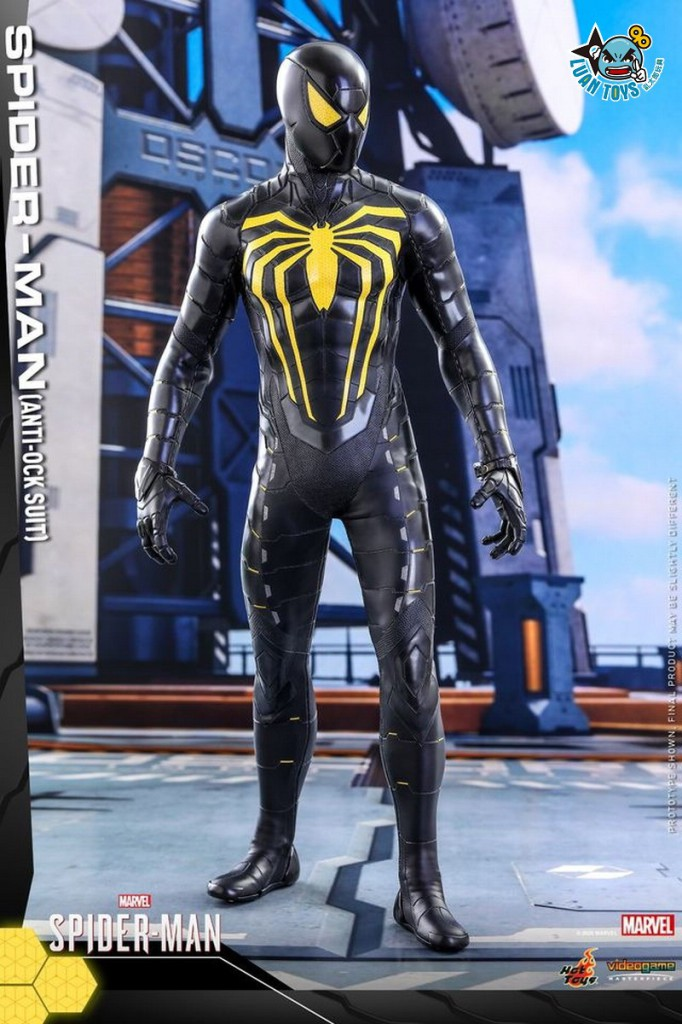HOT TOYS MARVEL'S SPIDER-MAN 漫威 蜘蛛人 – SPIDER-MAN 蜘蛛人(ANTI-OCK SUIT 反八爪博士戰衣版)-15