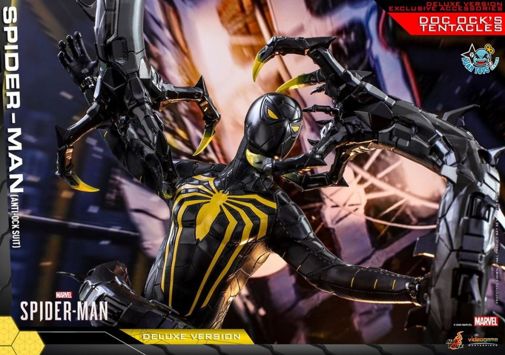 HOT TOYS MARVEL'S SPIDER-MAN 漫威 蜘蛛人 – SPIDER-MAN 蜘蛛人(ANTI-OCK SUIT 反八爪博士戰衣版)(DX版)-01