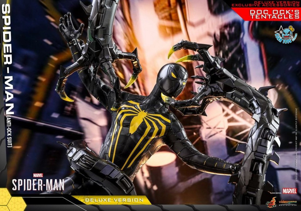 HOT TOYS MARVEL'S SPIDER-MAN 漫威 蜘蛛人 – SPIDER-MAN 蜘蛛人(ANTI-OCK SUIT 反八爪博士戰衣版)(DX版)-02
