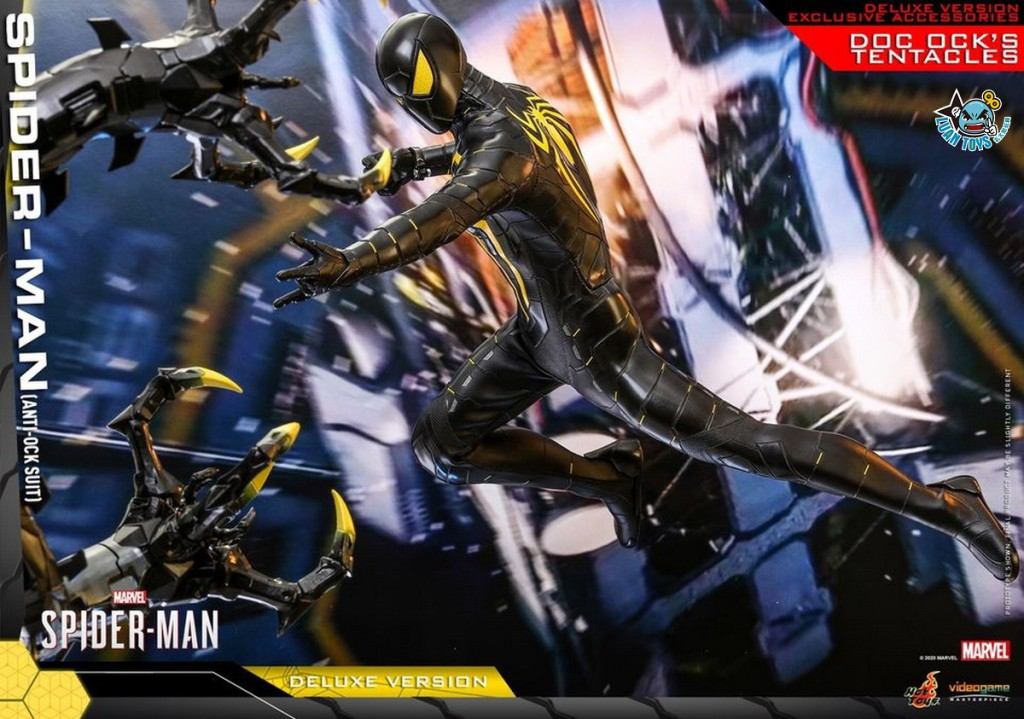 HOT TOYS MARVEL'S SPIDER-MAN 漫威 蜘蛛人 – SPIDER-MAN 蜘蛛人(ANTI-OCK SUIT 反八爪博士戰衣版)(DX版)-03
