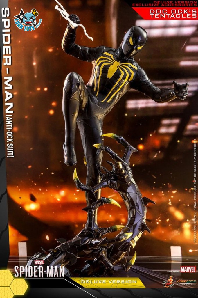HOT TOYS MARVEL'S SPIDER-MAN 漫威 蜘蛛人 – SPIDER-MAN 蜘蛛人(ANTI-OCK SUIT 反八爪博士戰衣版)(DX版)-05