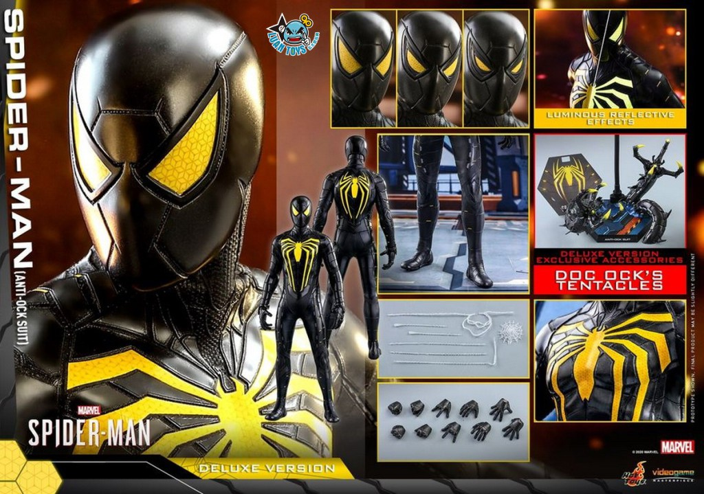 HOT TOYS MARVEL'S SPIDER-MAN 漫威 蜘蛛人 – SPIDER-MAN 蜘蛛人(ANTI-OCK SUIT 反八爪博士戰衣版)(DX版)-06