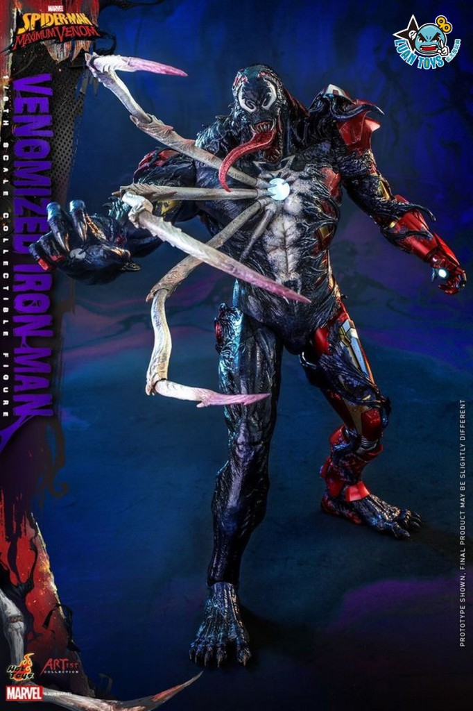 HOT TOYS MARVEL'S SPIDER-MAN MAXIMUM VENOM 蜘蛛人 極限猛毒 – VENOMIZED IRON MAN 猛毒鋼鐵人-04