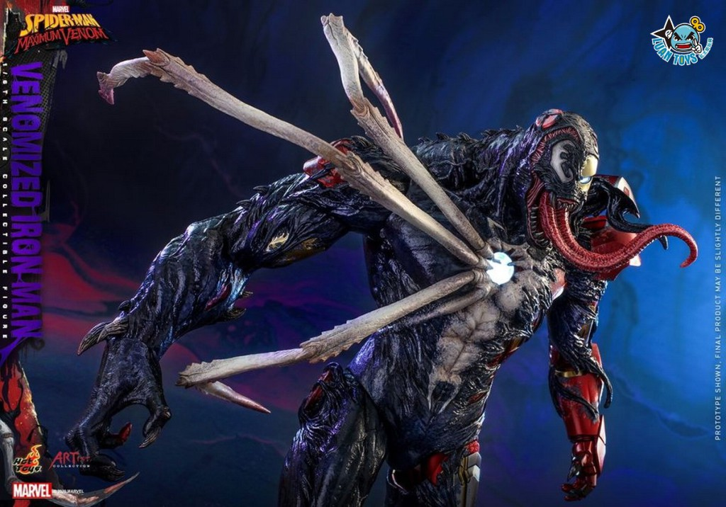 HOT TOYS MARVEL'S SPIDER-MAN MAXIMUM VENOM 蜘蛛人 極限猛毒 – VENOMIZED IRON MAN 猛毒鋼鐵人-06