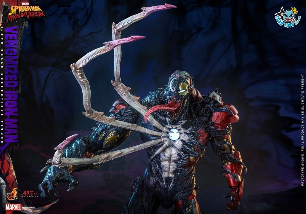 HOT TOYS MARVEL'S SPIDER-MAN MAXIMUM VENOM 蜘蛛人 極限猛毒 – VENOMIZED IRON MAN 猛毒鋼鐵人-09