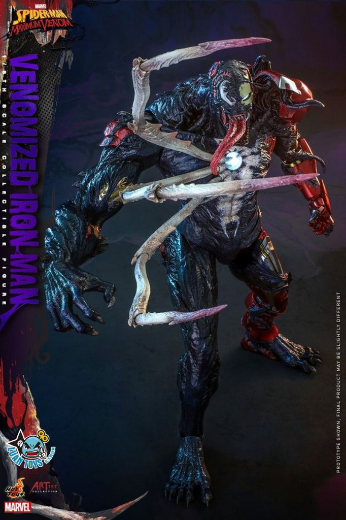 HOT TOYS MARVEL'S SPIDER-MAN MAXIMUM VENOM 蜘蛛人 極限猛毒 – VENOMIZED IRON MAN 猛毒鋼鐵人-10