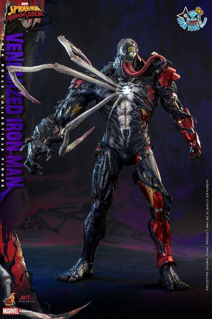 HOT TOYS MARVEL'S SPIDER-MAN MAXIMUM VENOM 蜘蛛人 極限猛毒 – VENOMIZED IRON MAN 猛毒鋼鐵人-11