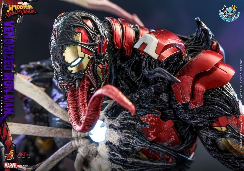 HOT TOYS MARVEL'S SPIDER-MAN MAXIMUM VENOM 蜘蛛人 極限猛毒 – VENOMIZED IRON MAN 猛毒鋼鐵人-12