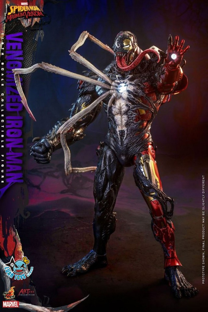 HOT TOYS MARVEL'S SPIDER-MAN MAXIMUM VENOM 蜘蛛人 極限猛毒 – VENOMIZED IRON MAN 猛毒鋼鐵人-14