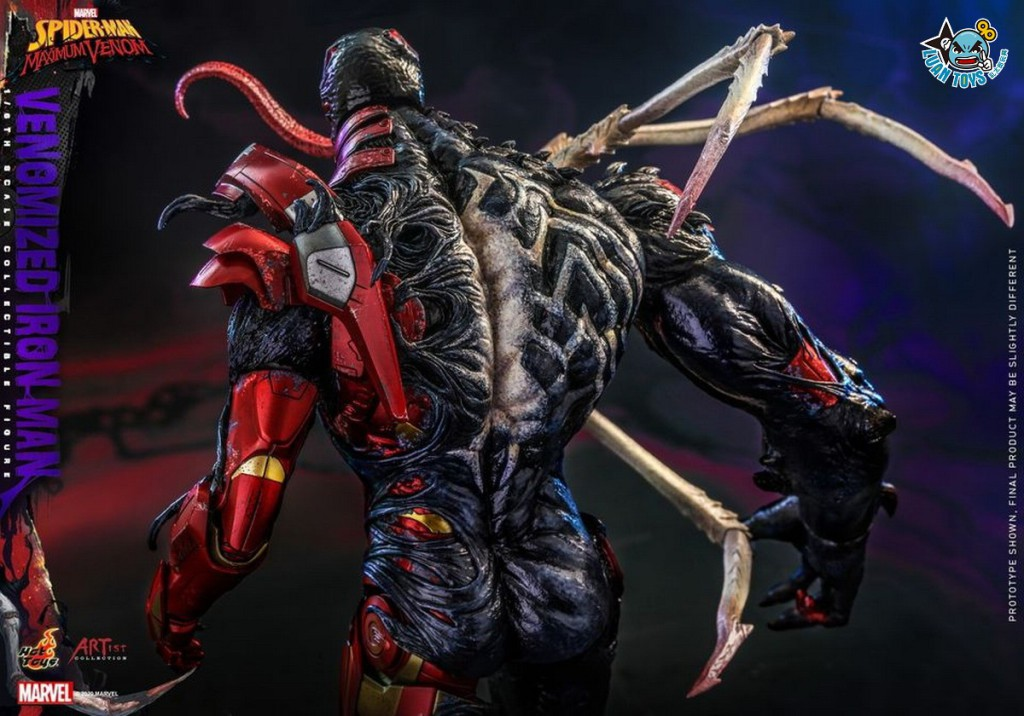 HOT TOYS MARVEL'S SPIDER-MAN MAXIMUM VENOM 蜘蛛人 極限猛毒 – VENOMIZED IRON MAN 猛毒鋼鐵人-16