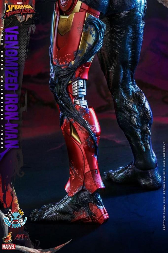 HOT TOYS MARVEL'S SPIDER-MAN MAXIMUM VENOM 蜘蛛人 極限猛毒 – VENOMIZED IRON MAN 猛毒鋼鐵人-18