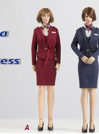 Wolford Toys WF-S005 CHINA AIR HOSTESS SET 中國空服員服裝配件組-03