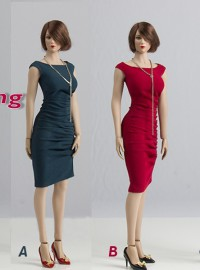 Wolford Toys WF-S006 TIGHT EVENING DRESS SET MARILYN DRESS 緊身晚宴禮服配件組-01