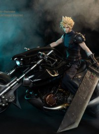 GAMETOYS GT-002 FINAL FANTASY VII 太空戰士 7 – CLOUD 克勞德 & 機車(DX版)