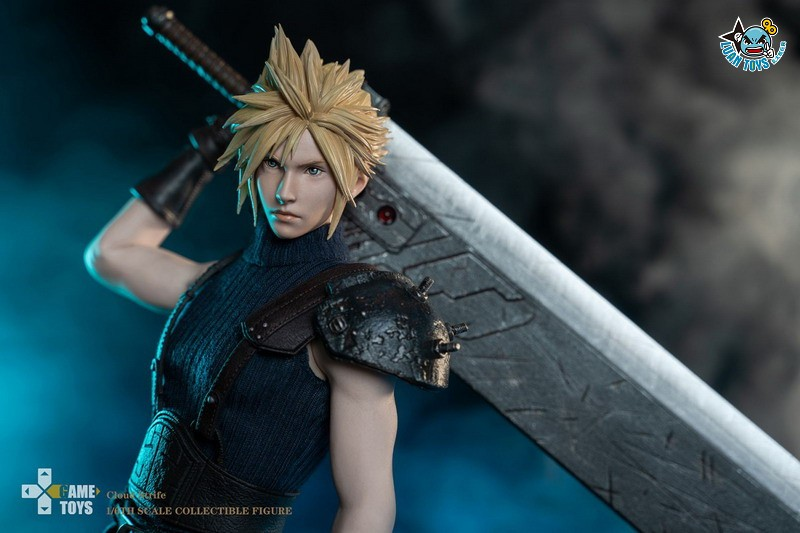 GAMETOYS GT-002 FINAL FANTASY VII 太空戰士 7 – CLOUD 克勞德-01