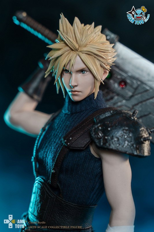 GAMETOYS GT-002 FINAL FANTASY VII 太空戰士 7 – CLOUD 克勞德-02