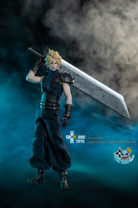 GAMETOYS GT-002 FINAL FANTASY VII 太空戰士 7 – CLOUD 克勞德-03