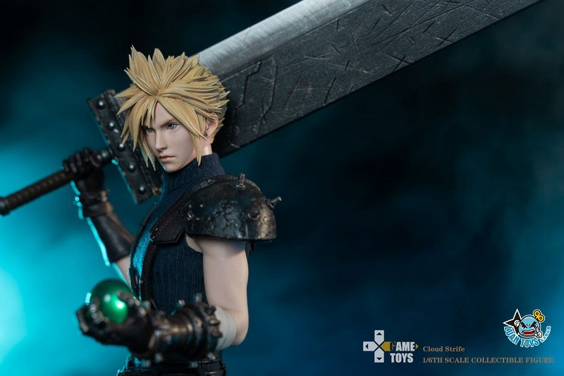 GAMETOYS GT-002 FINAL FANTASY VII 太空戰士 7 – CLOUD 克勞德-04