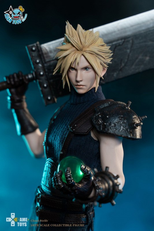 GAMETOYS GT-002 FINAL FANTASY VII 太空戰士 7 – CLOUD 克勞德-05