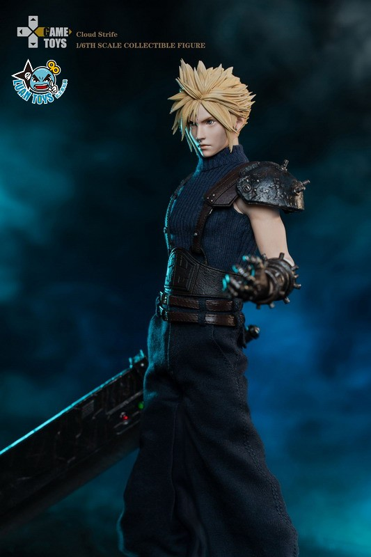 GAMETOYS GT-002 FINAL FANTASY VII 太空戰士 7 – CLOUD 克勞德-06