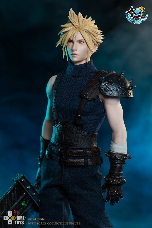 GAMETOYS GT-002 FINAL FANTASY VII 太空戰士 7 – CLOUD 克勞德-07