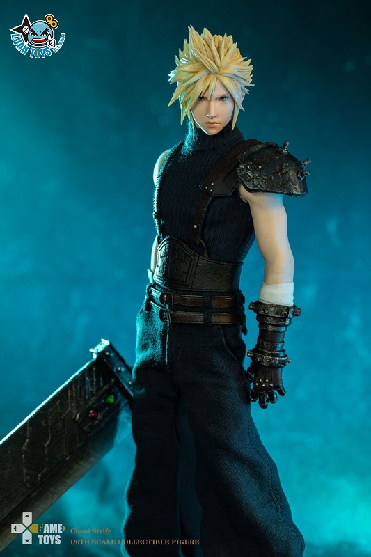GAMETOYS GT-002 FINAL FANTASY VII 太空戰士 7 – CLOUD 克勞德-08