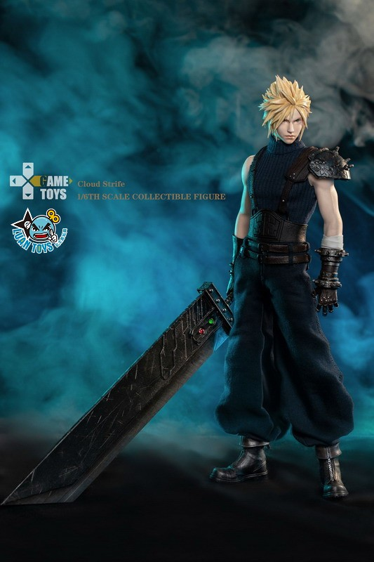 GAMETOYS GT-002 FINAL FANTASY VII 太空戰士 7 – CLOUD 克勞德-09