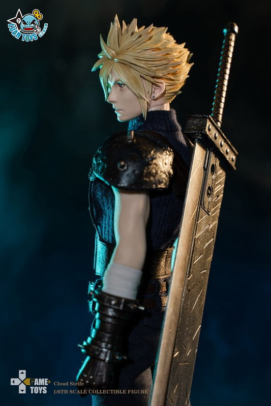 GAMETOYS GT-002 FINAL FANTASY VII 太空戰士 7 – CLOUD 克勞德-10