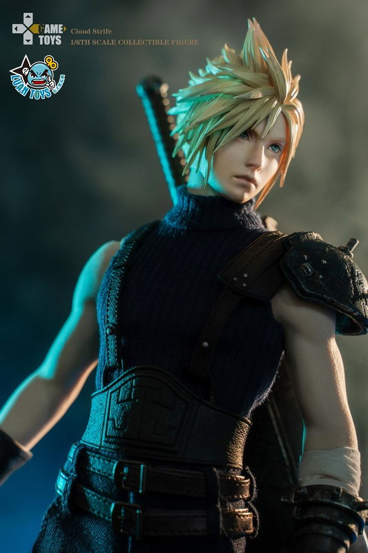 GAMETOYS GT-002 FINAL FANTASY VII 太空戰士 7 – CLOUD 克勞德-11