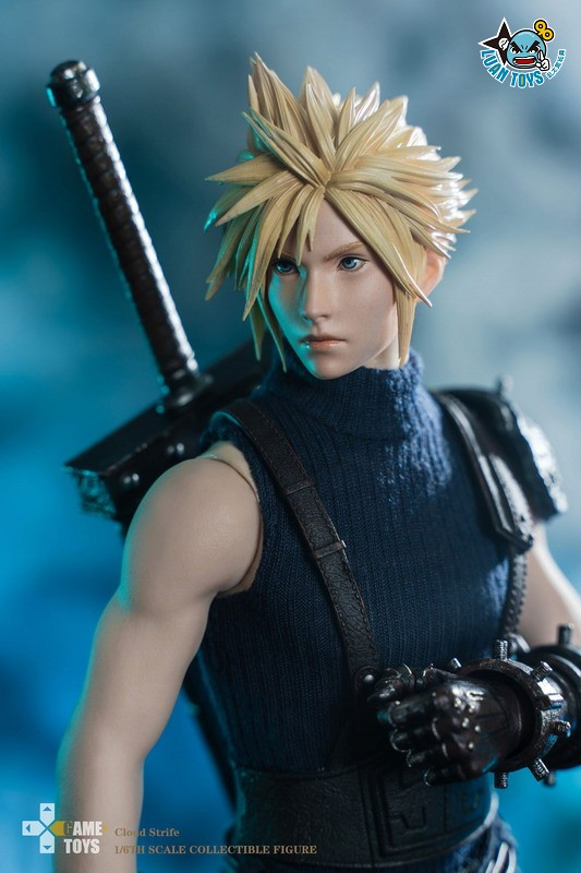 GAMETOYS GT-002 FINAL FANTASY VII 太空戰士 7 – CLOUD 克勞德-12