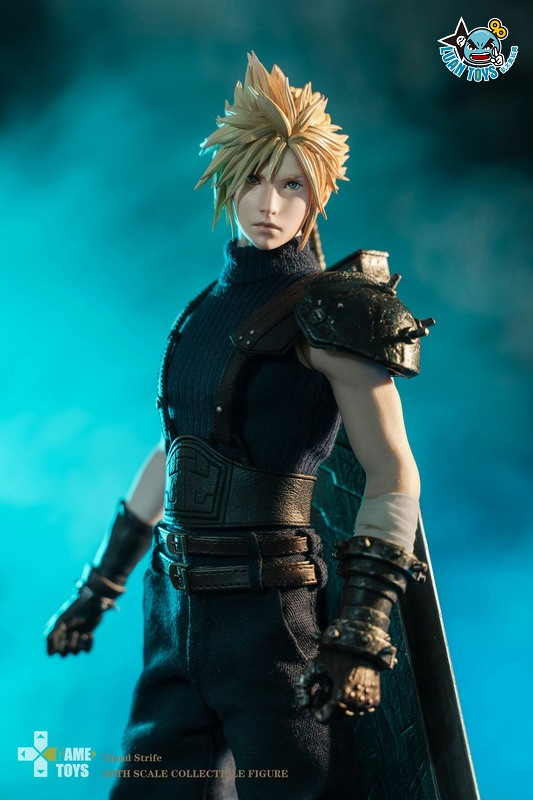 GAMETOYS GT-002 FINAL FANTASY VII 太空戰士 7 – CLOUD 克勞德-13