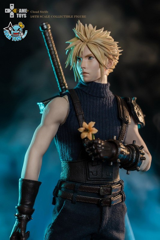 GAMETOYS GT-002 FINAL FANTASY VII 太空戰士 7 – CLOUD 克勞德-14