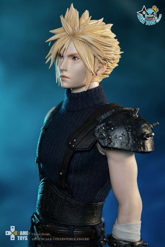 GAMETOYS GT-002 FINAL FANTASY VII 太空戰士 7 – CLOUD 克勞德-16