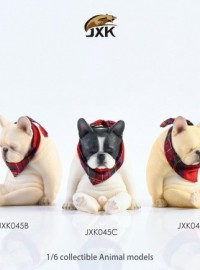 JXK studio JXK045 BRITISH BULLDOG 英國鬥牛犬 & 圍巾-01