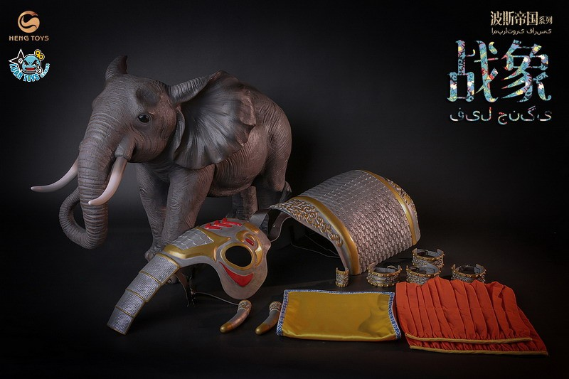 HENG TOYS PE-009 PERSIAN EMPIRE SERIS 波斯帝國系列 – THE PERSIAN WAR ELEPHANT 波斯戰象-12