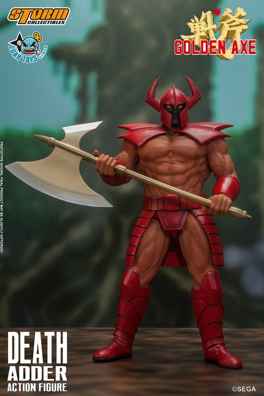 STORM TOY SGGA03 SEGA GOLDEN AXE 戰斧 – DEATH ADDER 大魔王 迪斯亞達-03