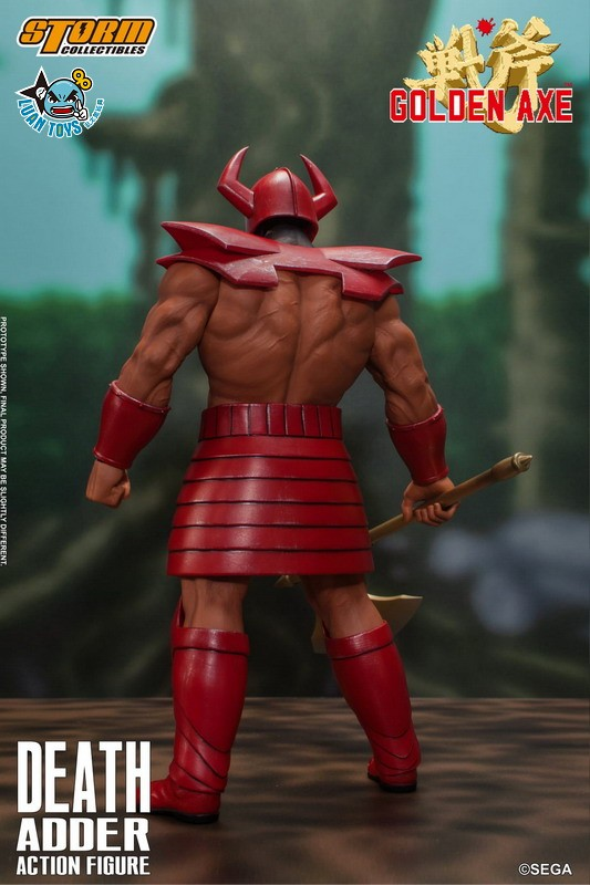 STORM TOY SGGA03 SEGA GOLDEN AXE 戰斧 – DEATH ADDER 大魔王 迪斯亞達-13