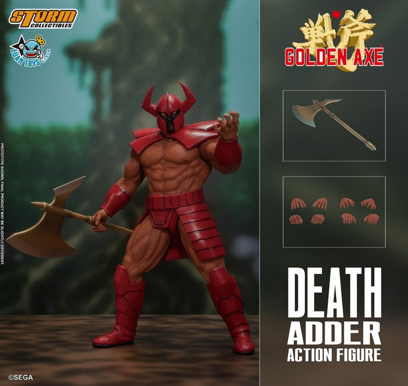 STORM TOY SGGA03 SEGA GOLDEN AXE 戰斧 – DEATH ADDER 大魔王 迪斯亞達-14