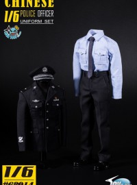 TOYS CITY 龍之城 TGC-68014 CHINESE POLICE OFFICER UNIFORM SET 中國公安制服服裝配件組(2.0版Ver.)-01