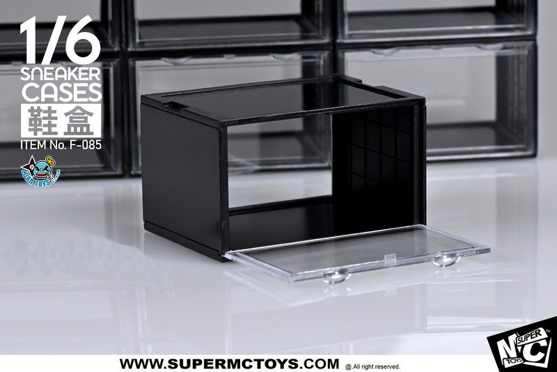 SUPERMCTOYS F-085A SNEAKER CASES 鞋盒(A款黑色)-01