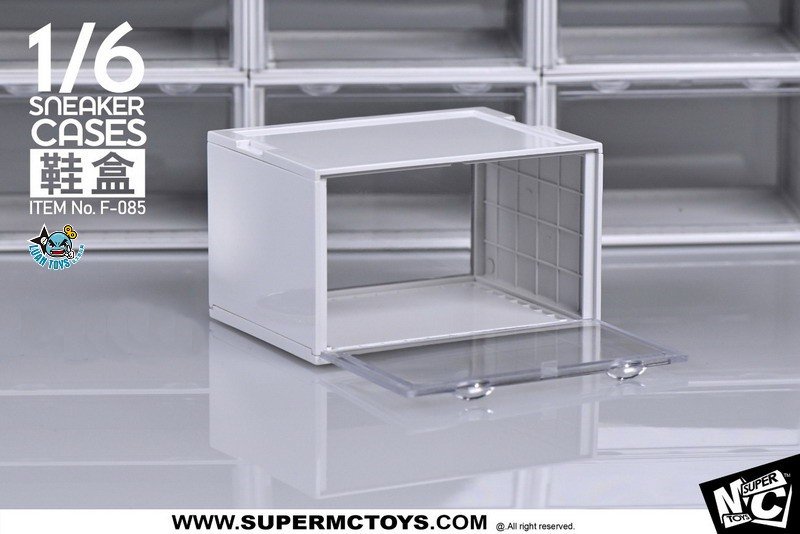 SUPERMCTOYS F-085B SNEAKER CASES 鞋盒(B款白色)-01